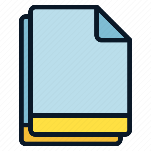 blank, file, multiple, selected icon