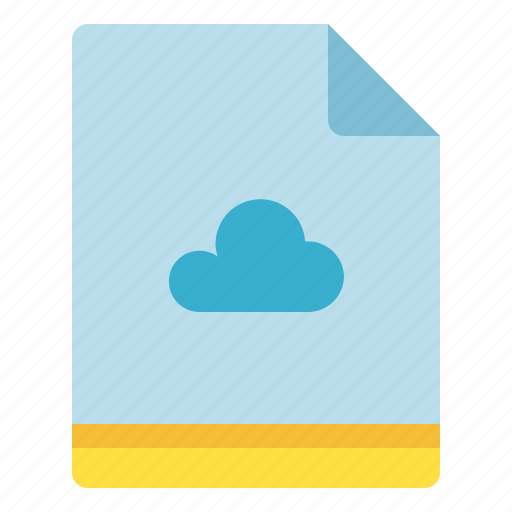 cloud, file, save, storage icon