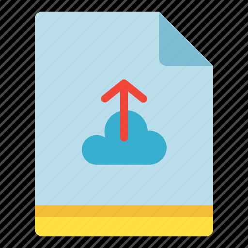 Backup, cloud, file, upload icon - Download on Iconfinder