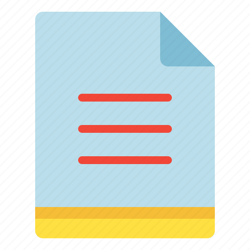 file, list, menu, select icon