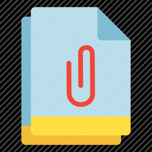 add, attachment, clip, file, multiple, on icon
