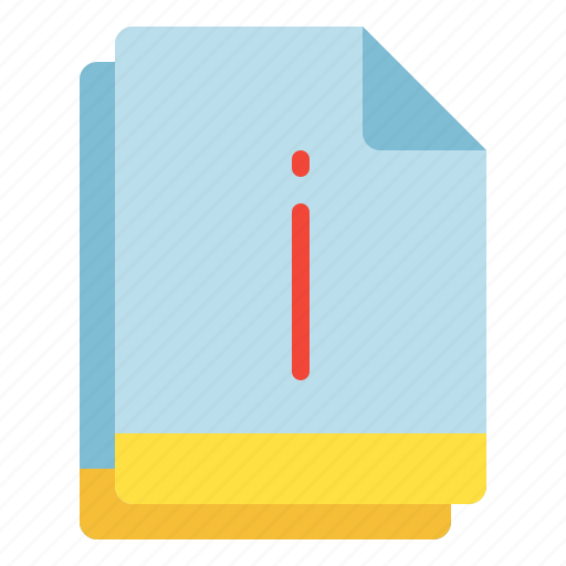 File, important, info, multiple, notice icon - Download on Iconfinder