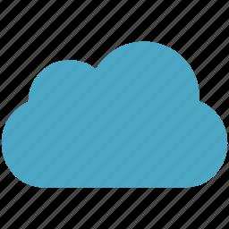 blue, cloud, cloudy icon