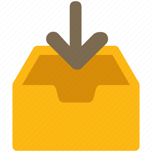 archive, data, documents, download, inbox, outgoing icon