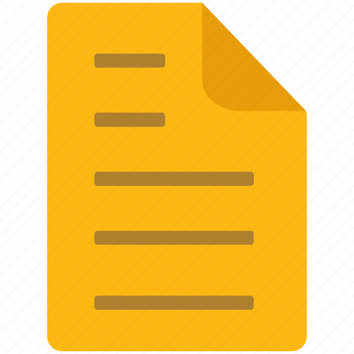 content, document, file, letter, page icon