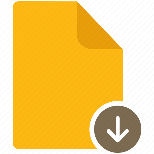 content, document, download, file, page icon