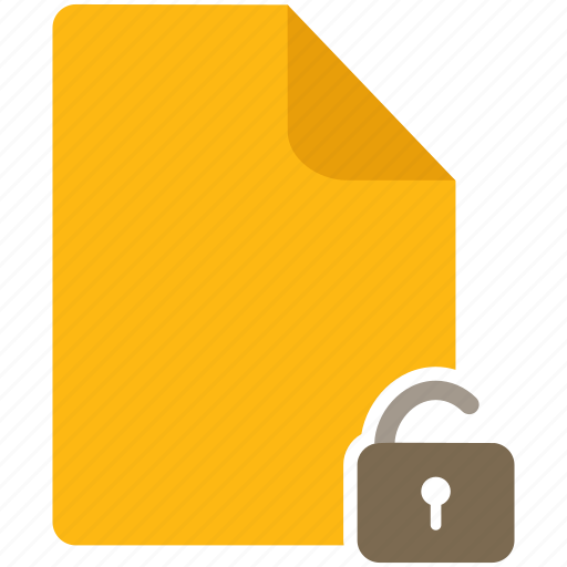 content, document, file, lock, page, secure icon