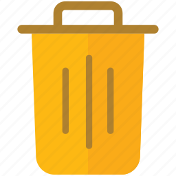 bin, box, can, trash icon