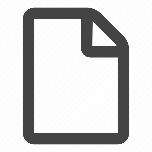 document, file, files icon