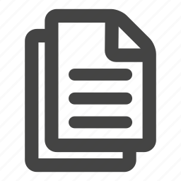 document, file, files, sheet icon