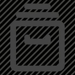 archive, data, database, files, folder, folders, storage icon
