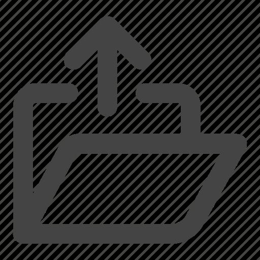 document, file, files, fodler, upload icon