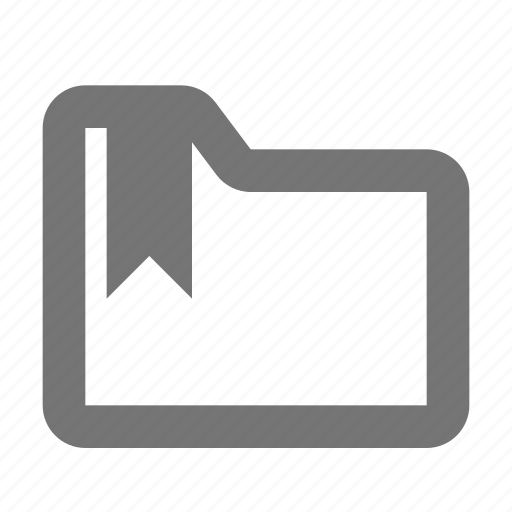 archive, bookmark, document, file, folder, marker, save, tag icon
