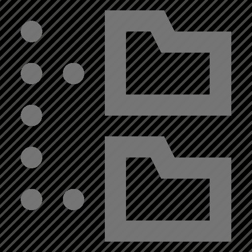 archive, folder, folders icon