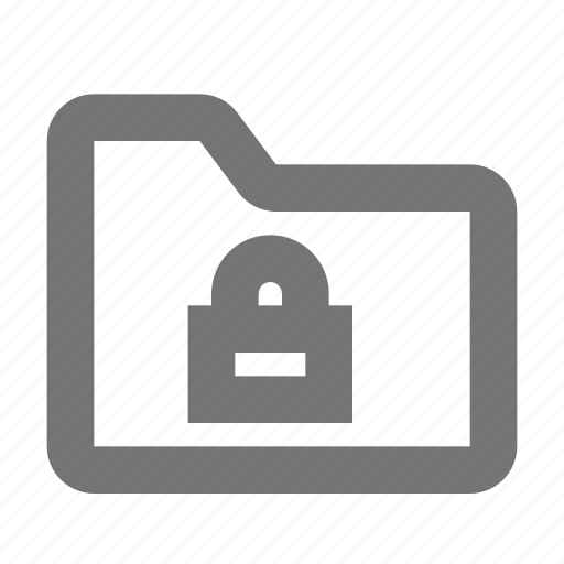 archive, document, file, folder, lock, password, protect, security icon