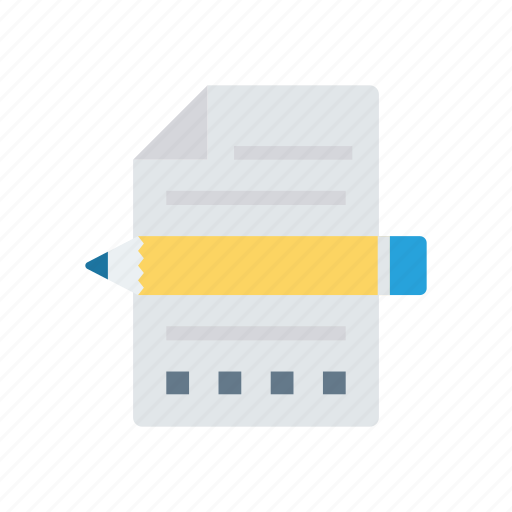 create, edit, page, write icon