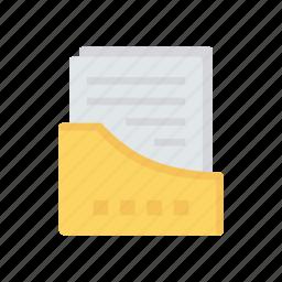 archive, doc, files, folder icon