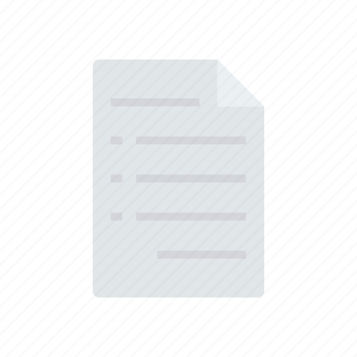 doc, flyer, page, paper icon