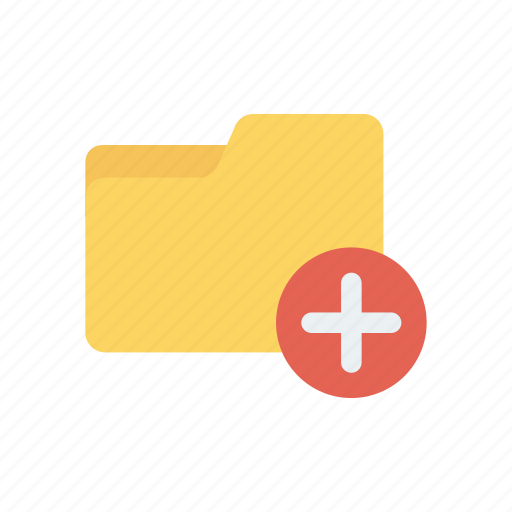 add, archive, folder, plus icon