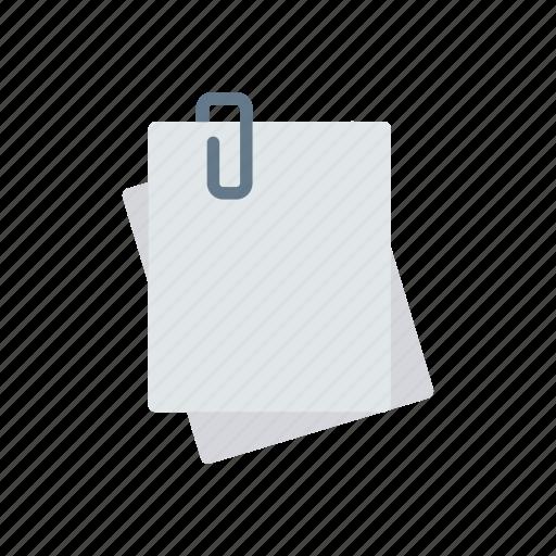 attachment, doc, files, records icon