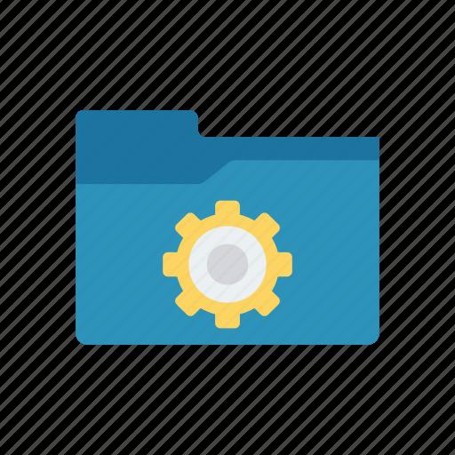 archive, configuration, folder, setting icon