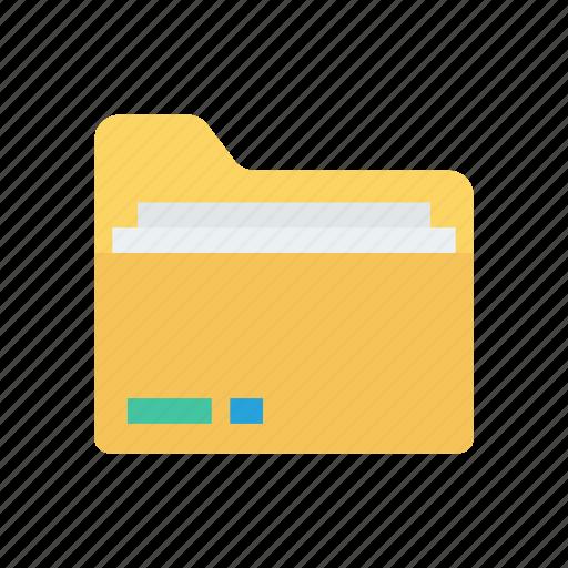 data, file, folder, record icon