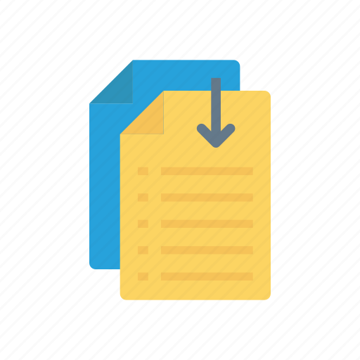 doc, files, pages, record icon