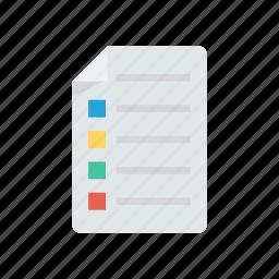 document, files, records, survey icon