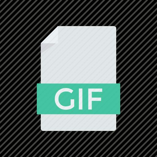 document, gif, paper, record icon
