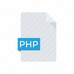 document, file, page, php icon