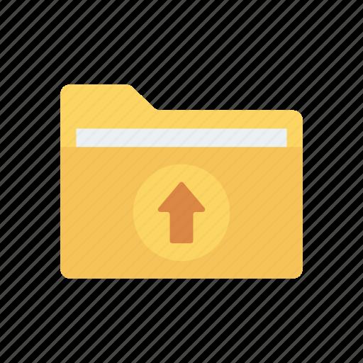 data, files, folder, upload icon