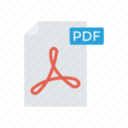 document, file, page, pdf icon