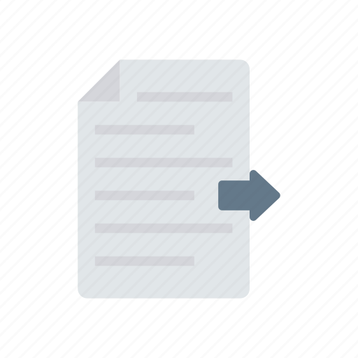 doc, file, page, share icon