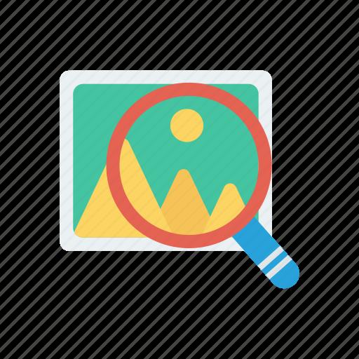 camera, photo, picture, search icon