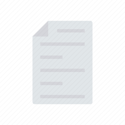 document, files, page, record icon