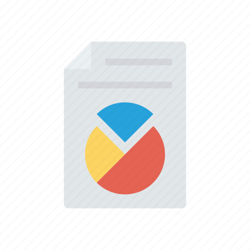 document, graph, report, sheet icon