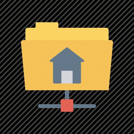 archive, data, folder, share icon