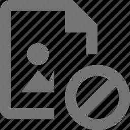 block, file, image, stop icon