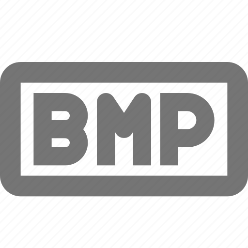bmp, extension, image icon