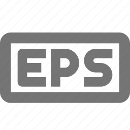 eps, extension, image icon