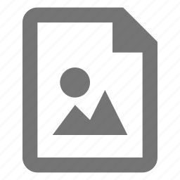 document, file, format, image, media, paper, sheet icon