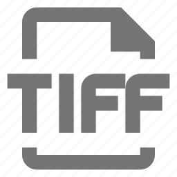 document, extension, file, format, image, paper, sheet, tiff icon