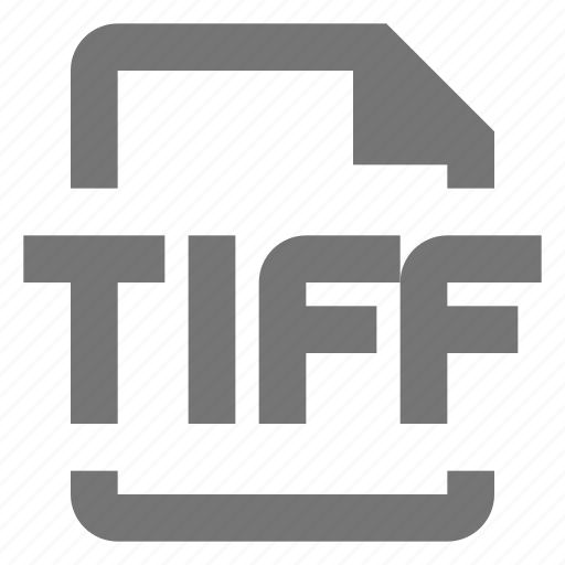 extension, file, image, tiff icon