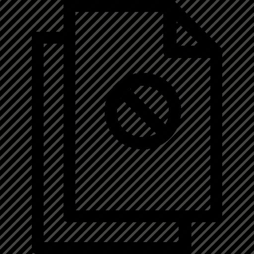 document, file, files, paper, secret icon