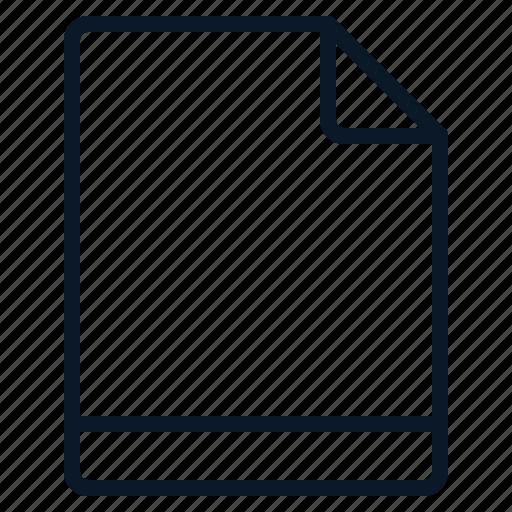 blank, default, empty, file icon