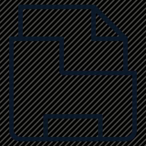 data, file, folder, pack icon