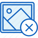 close, files, image, picture icon