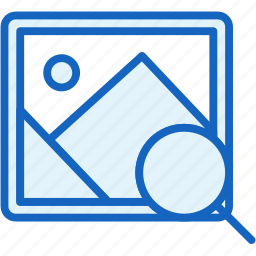 files, image, picture, search icon