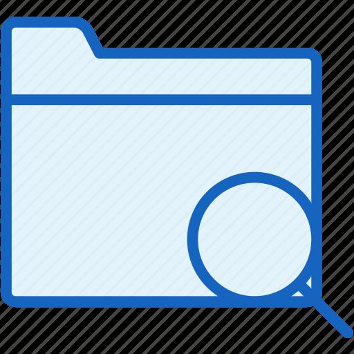 files, folder, search icon