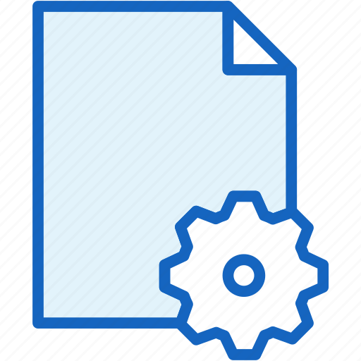 files, settings icon